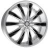 Passenger car alloy wheel