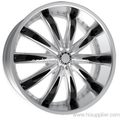 Passenger car alloy wheel