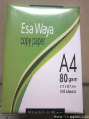 paper printing A4 80gr