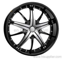 one-pcs casting alloy wheel