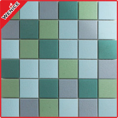 Anti slip mosaic tile