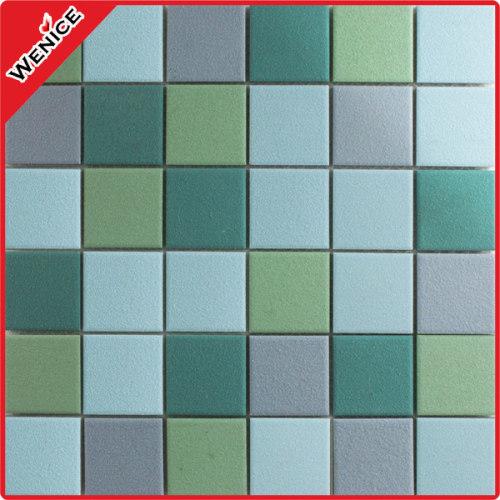 Anti slip mosaic tile