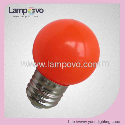 LED BULB E27 CHRISTMAS LAMP COLOR LIGHT FOR DECORATION