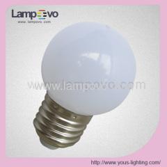 E27 1W G45 LED BULB COLOR DECORATION WHITE