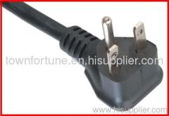 N5-15P Angled plug with cord for America