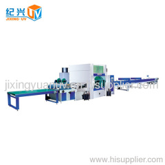 Automatic slab spray equipment