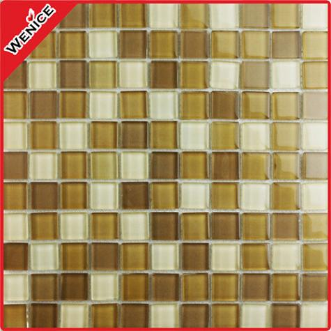 Room decorating glass mosaic blend 25x25