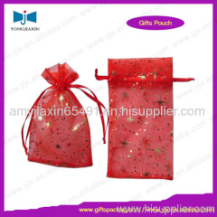 drawstring organza jewelry bag