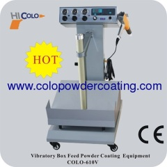 Pulse Type box feed Manual powder coating equipment