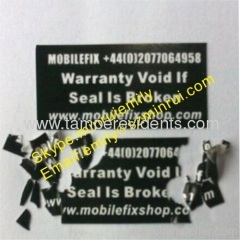 Warranty Void If Seal Is Broken Labels
