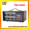 Digital Multi Effect 6 Channel Power Mixer PMC6200U