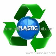 Recycled PET plastic treatment process