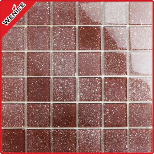 Glitter Wall mosaic for living room 48x48