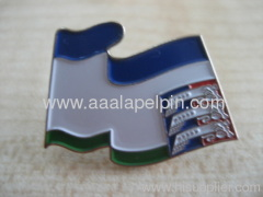National country flag lapel pins