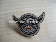 Hawk eagle shape Cloisonne Pin