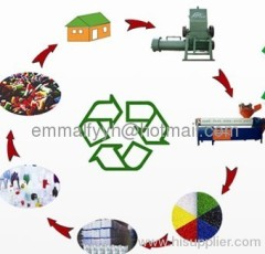Africa High Quality Plastic Recycling Line