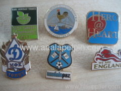 Custom metal Hard Enamel Badge manufacturer