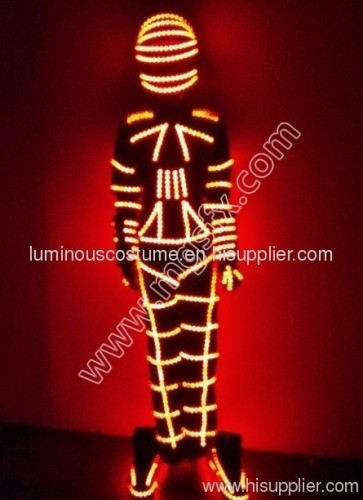 led lights costume LED robot suits EL WIRE COSTUME from China ...
