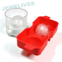 Double Ice ball in Food Grade Silicone