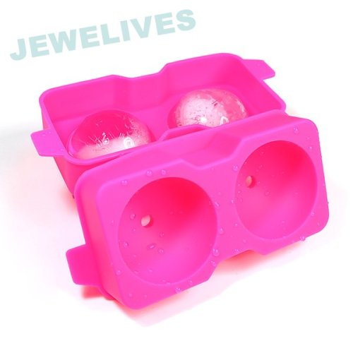2.4inch double Ice ball in Food grade Silicone