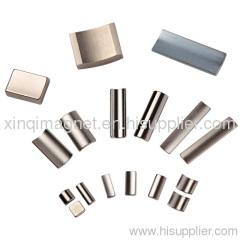 Segment Neodymium Magnets N45SH