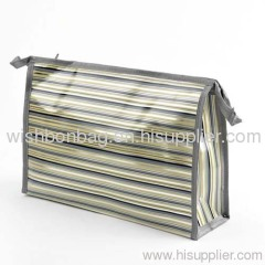 women hanging cosmetic bagg