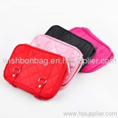 lady cosmetic Satin bags