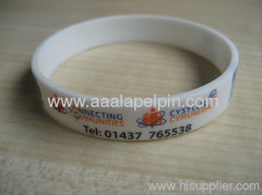 Hot selling fashion Silicone wristband