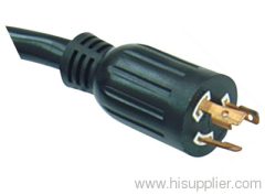 American UL CUL locking power cord with Nema L6-20P plug