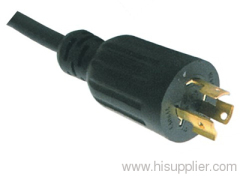 UL CUL Nema L6-15P locking power cord