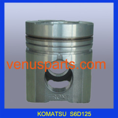 S6D105 piston for komatsu engine 6137-32-2130 S6D105 manufacturer