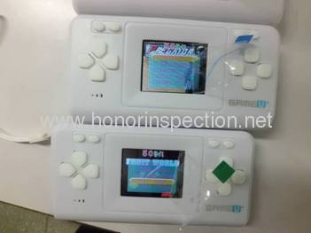 Game consoles quality control services