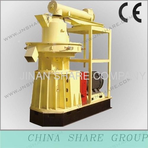 efficent pellet production machine for wood