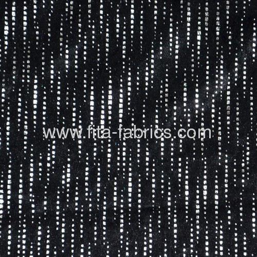 100% polyester printed pleuche fabric