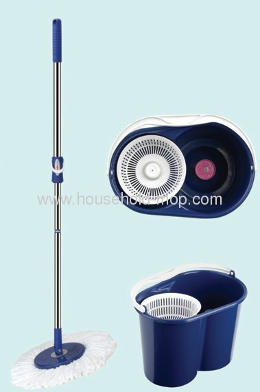 Mult-function 360 spin magic mop with wringer bucket