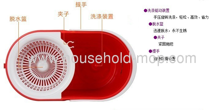 Newest Folding Spin Mop,as you seen on TV in Germany Poland