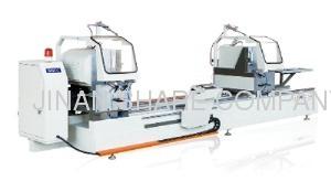 High grade NC double head precision cutting saw