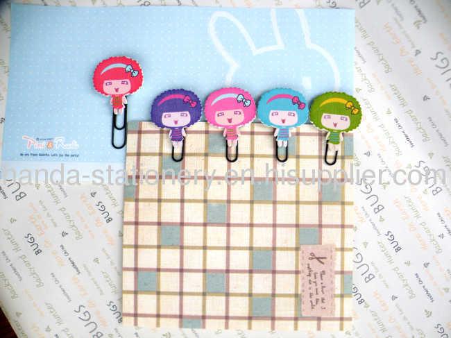 cartoon bookmarkmetal bookmarkwood bookmark paper clips
