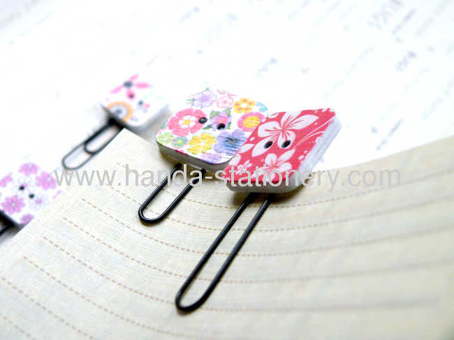 cartoon bookmarkmetal bookmarkwood bookmark paper clips