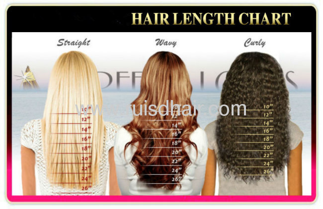 Brazilian Virgin Keratin Stick I Tip Hair Extension From