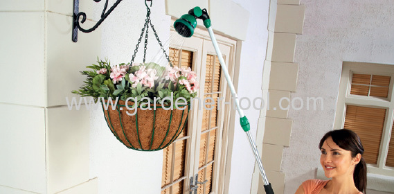 10 function garden water wand with valve.