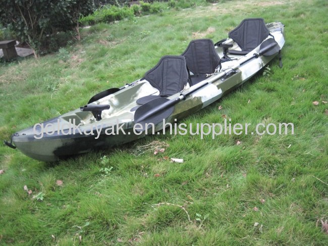 Trio Seater Sit On Top Kayak Family Three Person