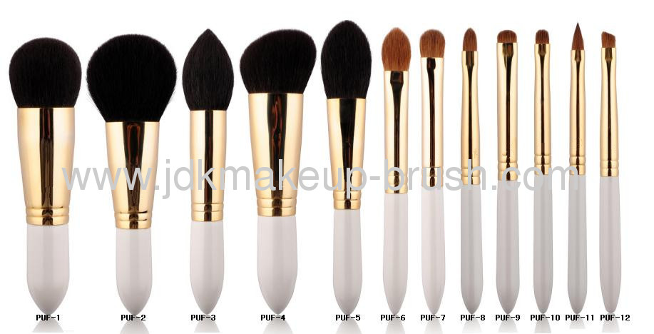 ... 12 pcs white handle makeup brush set looking for the best ...