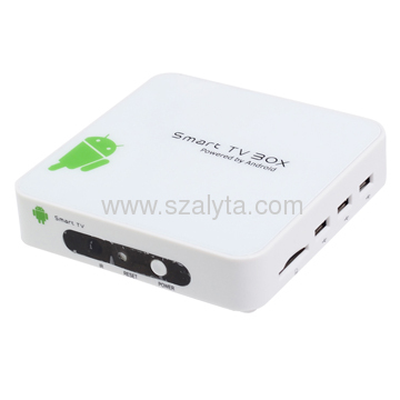 Google Android 4.0 with WIFI Bluetooth Supports DVB-T/DVB-S2, HDMI Media Palyer