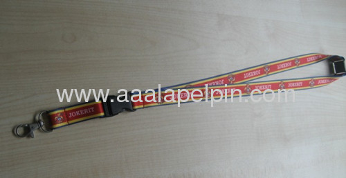 Fashion full color printing lanyard, lanyard,sublimation polyester lanyards ,