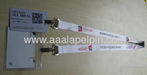 Fashion heat transfer printing lanyard, sublimation lanyard, printing lanyard,