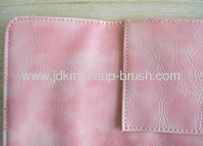 Fantastic Pink color PU Cosmetic Pouch