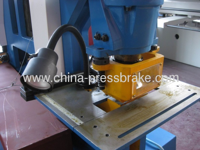 hydraulic bending and cutting machine