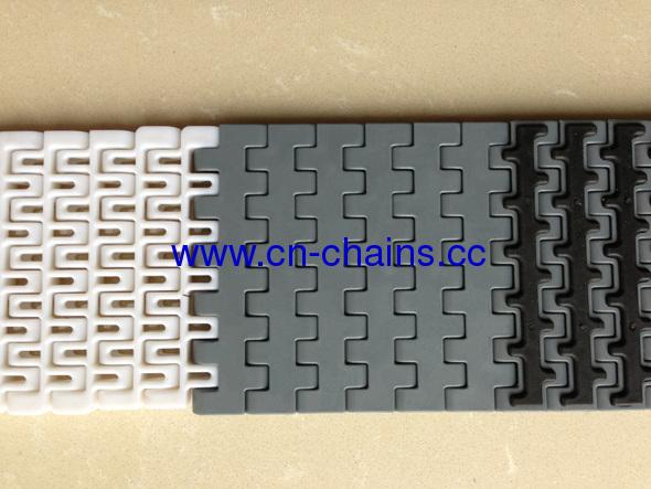 mini pitch rubber top straight running modular conveyor belt (RW-MQNB rubber top)