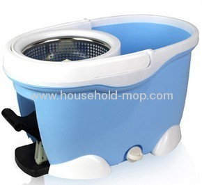 hand press super easy floor dust cleaning magic spin mop